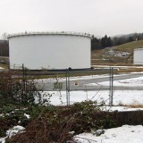 This Kinder Morgan tank farm in Abbotsford leaked 110,000 liters of crude oil in January (Christina Toth/Times photo)