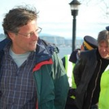 Dr. Mark Jaccard was arrested recently in BC at a protest against coal shipments (Vancouver Observer photo)