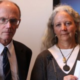 Alexandra Morton and SFU Prof. Rick Routlledge are being honoured with this year's Sterling Prize (photo: SalmonAreSacred.org)
