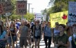 A rally against Kinder Morgan's proposed pipeline and tanker expansion last year.