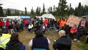 Sacred Headwaters mine stand-off: Meeting CEO fails to ease tensions