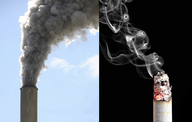 Scientists as certain of climate change as they are that smoking kills