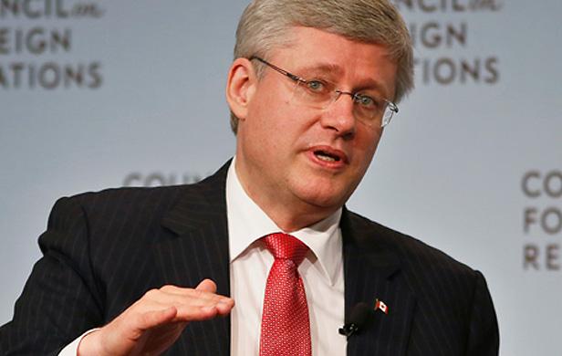 Harper's Keystone XL lobbying trip funded by $65,000 in tax dollars