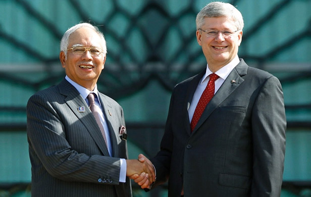 Malaysian prime minister promises $36 Billion for BC LNG plant