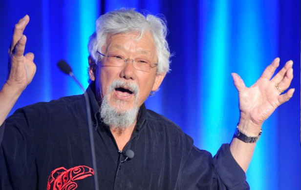 David Suzuki Carbon Tax