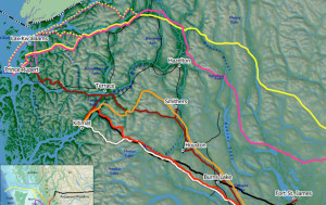 New map shows multiple proposed oil, gas pipelines for BC
