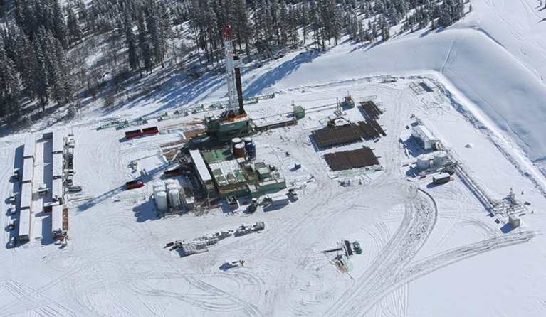 Talisman drilling operation