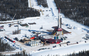 Horn River fracking
