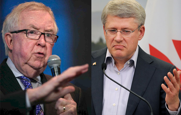 Joe Clark blasts PM Harper for attacks on environmentalists