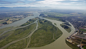 Chilliwack, BC on the banks of the Fraser River (Photo: Straight.com).