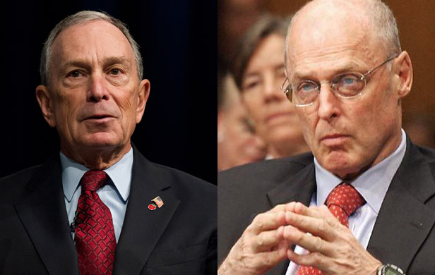 Michael Bloomberg, Hank Paulson tally cost of climate change
