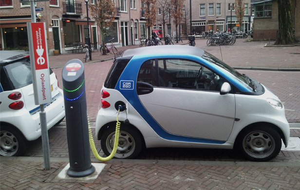 Powering clean transportation with clean energy