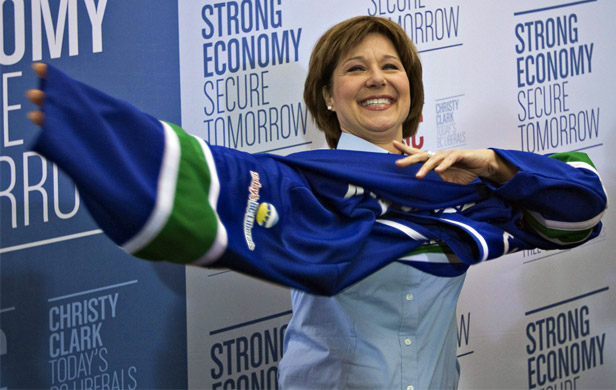 Christy Clark should try being more leader, less cheerleader