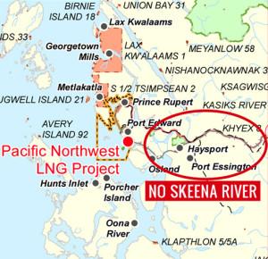 Petronas-Missing Skeena River