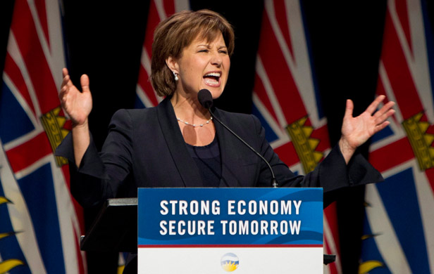 Christy Clark's LNG-fueled Fudge-it Budget