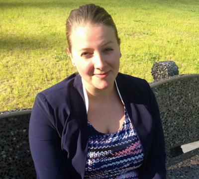 Emily Toews in Kitimat (Carol Linnit)