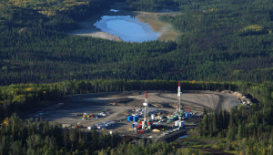 Fracking operations in northeast BC depend on large volumes of water (Damien Gillis)