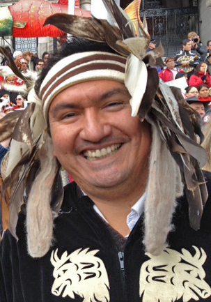 Squamish Chief Ian Campbell (Flickr/Leadnow)