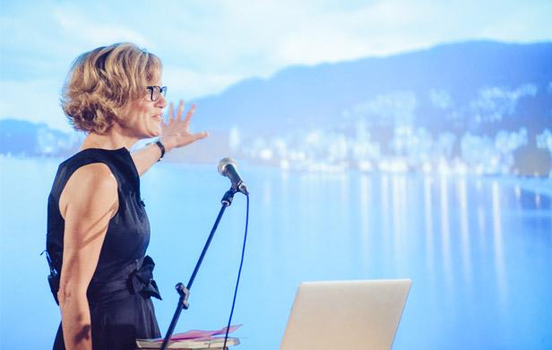 Liberal MP Pamela Goldsmith-Jones (Flickr/CreativeMornings Vancouver/Matthew Smith)