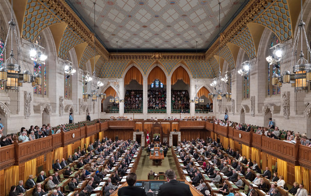 The Canadian House of Commons - 41st Parliament
