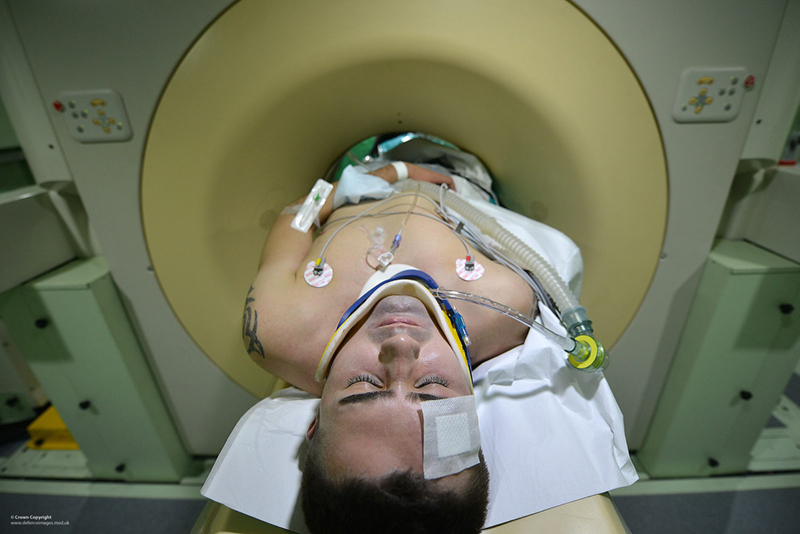 CT scan machine (Defence Images/Flickr)