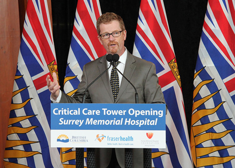 BC Health Minister Terry Lake (Province of BC/Flickr)