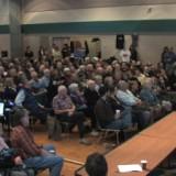 Alexandra Morton addresses 600 citizens in Qualicum Beach, BC - January 2010