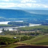 The Peace River Valley