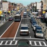 Bus lane in Brooklyn - Photo www.mta.info