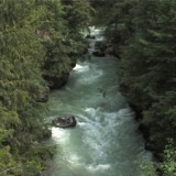 Glacier Creek, in the Kootenays - spared for now from destruction by Axor Group's proposed private river power project