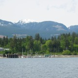 The Raven Coal Mine would be situated just 5 km from Fanny Bay Wharf - shown here (photo: John Snyder)