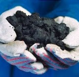 A handful of Canadian oil sands