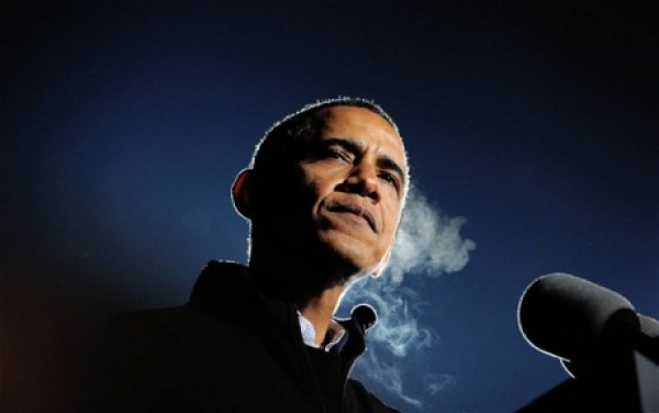 US President Barack Obama is talking tough on climate change these days.