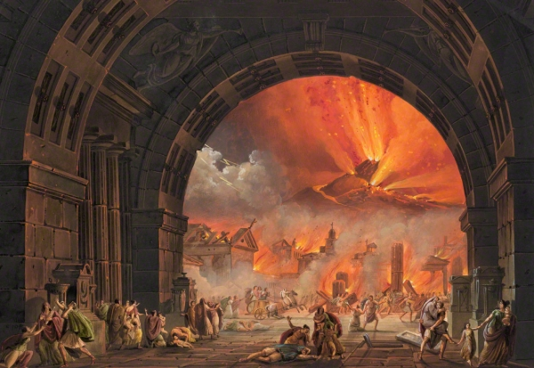 Image result for the eruption of mount vesuvius 79 ad