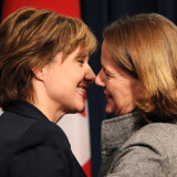 Clark & Redford: What their cozy relationship means for BC pipelines