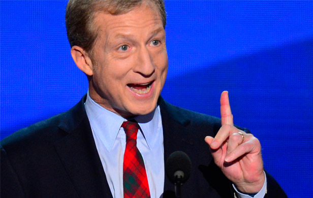 Billionaire Tom Steyer blames Harper's agressive Keystone lobbying for US govt shutdown