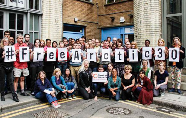 Greenpeace Arctic 30 arrests another attempt to silence environmentalists