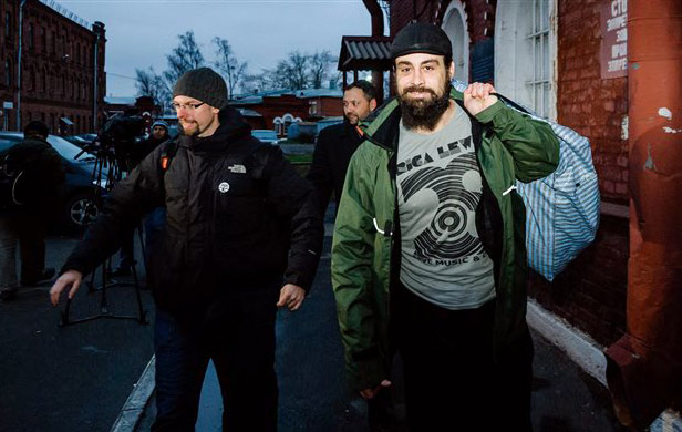 Greenpeace activists happy to be back home after Russian prison