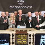 Marine Harvest lists on NYSE as Harper govt plans salmon farm expansion