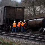 Rain blamed for yet another CN derailment - this time near Vancouver