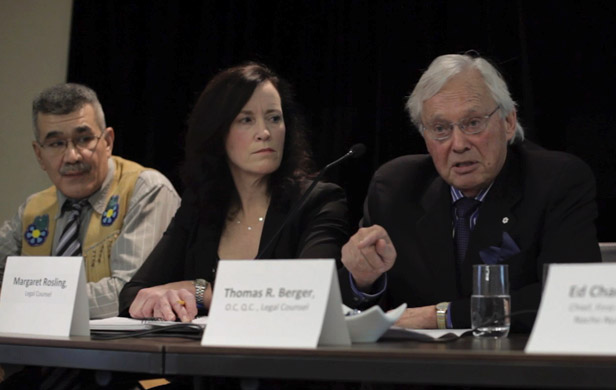 Thomas Berger leads watershed lawsuit against Yukon development plan