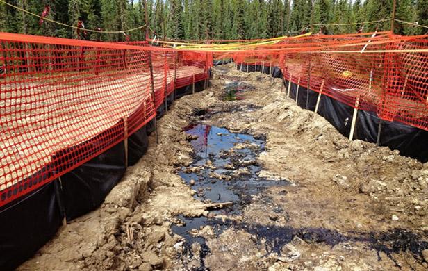 CNRL pipeline leaks 70,000 litres near Slave Lake