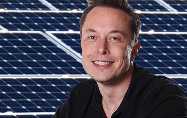 Elon Musk buys solar panel maker