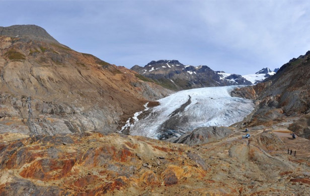 The location of one of KSM's three proposed open pit mines (Ed Schoenfeld, CoastAlaska)