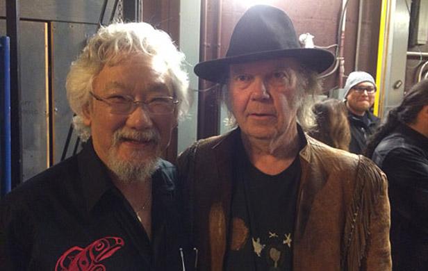 Rock stars join David Suzuki in cross-Canada 'Blue Dot' tour
