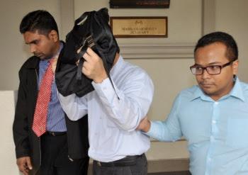 Idris Shuhud at the Kuala Lumpur Sessions Court in 2013 (BERNAMA)