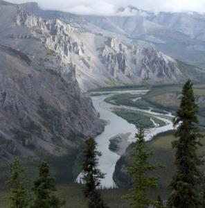 The Peel Watershed's Hart River (Marten Berkman)