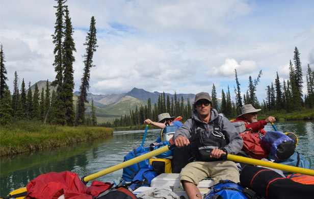 Ecotourism in the Peel Watershed plays an important role in the Yukon economy (Marten Berkman)