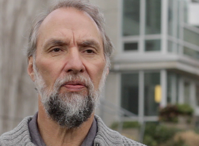 Retired DFO herring scientist Dr. Ron Tanasichuk (Damien Gillis)