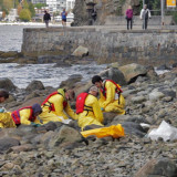 Harper, BC Tory MPs have oil on their hands from English Bay spill